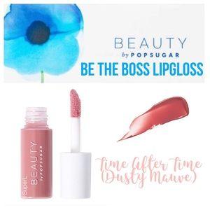 🦄 5/$15 Beauty by Popsugar Be Boss Lipgloss Time